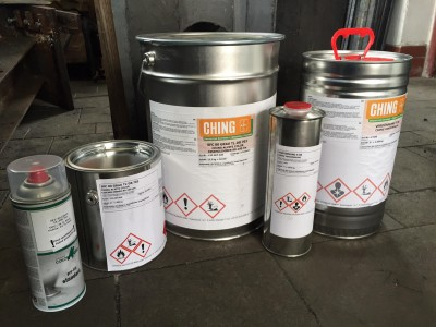 Ching Alvite Color DB 703 matný antracit, sprej 400 ml